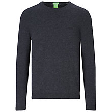 Buy BOSS Green C-Cecil Knitted Jumper Online at johnlewis.com