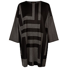 Buy Jaeger Laboratory Graphic Dress, Black/Grey Online at johnlewis.com