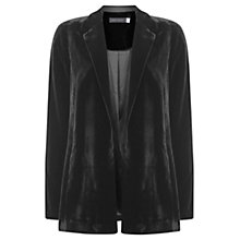 Buy Mint Velvet Velvet Relaxed Boyfriend Jacket Online at johnlewis.com