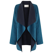 Buy Windsmoor Double Face Coat, Dark Green Online at johnlewis.com