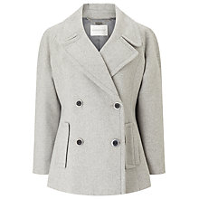 Buy Windsmoor Pu Trim Pea Coat Online at johnlewis.com