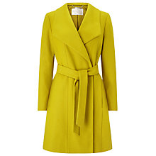 Buy Windsmoor Funnel Neck Wrap Coat, Mid Green Online at johnlewis.com