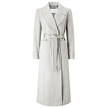 Buy Windsmoor Maxi Wrap Coat, Mid Grey Online at johnlewis.com