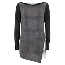 Buy Mint Velvet Layered Asymmetric Jumper, Multi Online at johnlewis.com