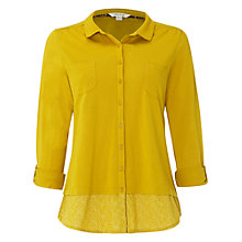 Buy White Stuff Botanical Shirt, Dandelion Yellow Online at johnlewis.com