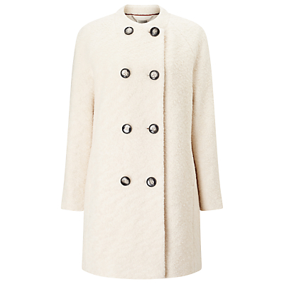 Windsmoor Boucle Wool Coat, Ivory