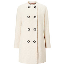 Buy Windsmoor Boucle Wool Coat, Ivory Online at johnlewis.com