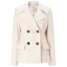 Buy Windsmoor Boiled Wool Double Breasted Shirt Coat Online at johnlewis.com