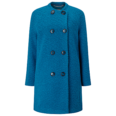 Windsmoor Boucle Wool Coat, Green