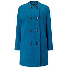Buy Windsmoor Boucle Wool Coat, Green Online at johnlewis.com
