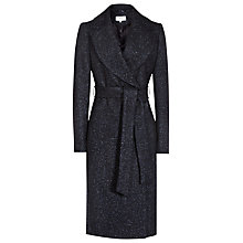 Buy Reiss Farris Textured Coat, Multi/Blue Online at johnlewis.com