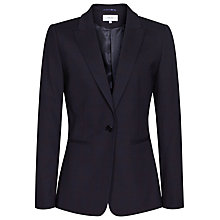 Buy Reiss Tyra Tailored Check Jacket, Navy Online at johnlewis.com