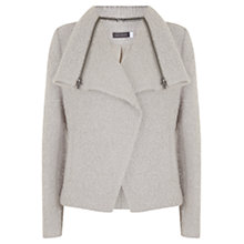 Buy Mint Velvet Winter Boucle Biker Jacket, White Online at johnlewis.com