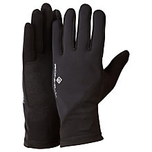 Buy Ronhill Sirocco Running Gloves, Black Online at johnlewis.com