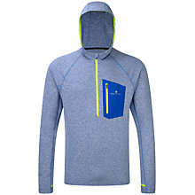 Buy Ronhill Advance Victory Hoodie, Blue/Yellow Online at johnlewis.com