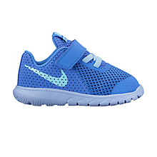 Buy Nike Toddler Flex Experience 5 Trainers, Medium Blue/Still Blue Online at johnlewis.com