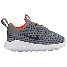 Buy Nike Children's Kaishi 2.0 Trainers, Grey/Black Online at johnlewis.com