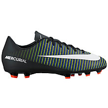 Buy Nike Children's Mercurial Vapor Lace Football Boots Online at johnlewis.com