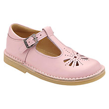 Buy Start-rite Children's Lottie Leather Shoes, Pink Online at johnlewis.com