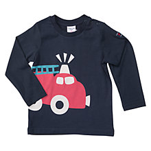 Buy Polarn O. Pyret Baby Engine Top, Dark Sapphire Online at johnlewis.com