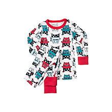Buy Polarn O. Pyret Children's Monster Pyjamas, Ski Patrol Online at johnlewis.com