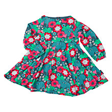 Buy Polarn O. Pyret Baby Elephant Dress, Deep Teal Online at johnlewis.com