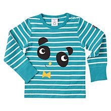 Buy Polarn O. Pyret Baby Long Sleeve Panda Top Online at johnlewis.com