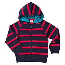 Buy Polarn O. Pyret Children's Striped Hoodie Online at johnlewis.com
