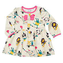 Buy Polarn O. Pyret Baby Party Animals Dress, Birch Online at johnlewis.com