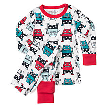 Buy Polarn O. Pyret Baby Monster Pyjamas, Ski Patrol Online at johnlewis.com