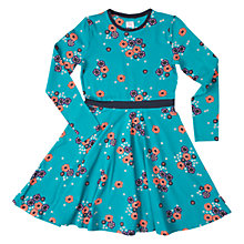Buy Polarn O. Pyret Girls' Flower Print Dress Online at johnlewis.com