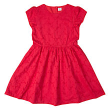 Buy Polarn O. Pyret Girls' Heart Broidery Dress, Ski Patrol Online at johnlewis.com