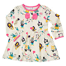 Buy Polarn O. Pyret Girls' Party Animals Dress, Birch Online at johnlewis.com