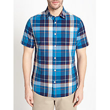Buy John Lewis Large Multi Check Short Sleeve Shirt Online at johnlewis.com