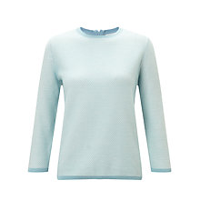 Buy Collection WEEKEND by John Lewis Knit Jumper, Pale Blue Online at johnlewis.com