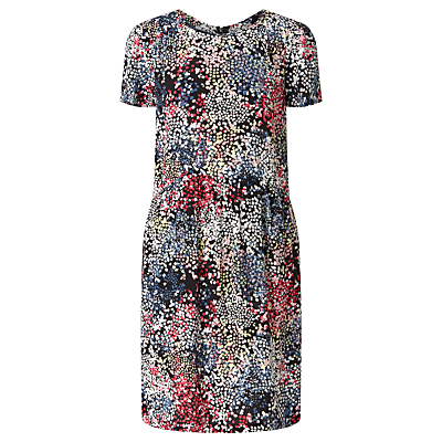 Collection WEEKEND by John Lewis Confetti Print Dress, Black/Multi