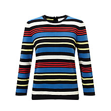 Buy Collection WEEKEND by John Lewis Stripe Knit Jumper Online at johnlewis.com