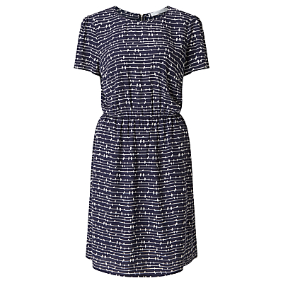 Collection WEEKEND by John Lewis Bird On A Wire Dress, Mono Print