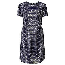 Buy Collection WEEKEND by John Lewis Bird On A Wire Dress, Mono Print Online at johnlewis.com