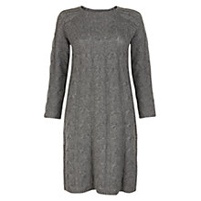 Buy Hobbs Rosa Dress, Dark Grey Online at johnlewis.com