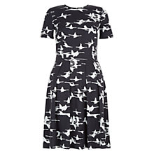 Buy Hobbs Magdelene Dress, Grey Online at johnlewis.com