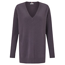 Buy Jigsaw Miller Cashmere V-Neck Jumper Online at johnlewis.com