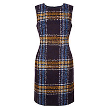 Buy Hobbs Briony Dress, Navy Multi Online at johnlewis.com