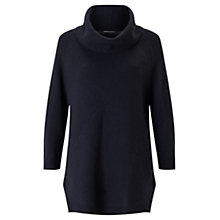 Buy Jigsaw Cross Rib Cowl Neck Jumper Online at johnlewis.com