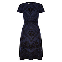 Buy Hobbs Eloise Dress, Midnight Black Online at johnlewis.com