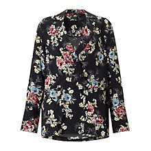 Buy Miss Selfridge Floral Tuxedo Jacket, Multi Online at johnlewis.com