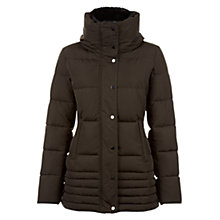 Buy Hobbs Leonie Faux Fur Trim Puffer Coat Online at johnlewis.com