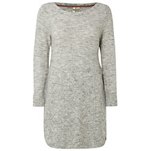 Buy White Stuff Mable Cable Knit Tunic, Narwhal Grey Online at johnlewis.com