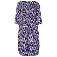 Buy White Stuff Spotty Fern Dress, Japanese Purple Online at johnlewis.com