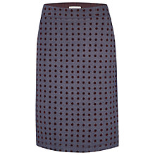 Buy White Stuff Snowy Scene Skirt, Deep Dusky Blue Online at johnlewis.com